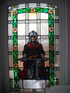 Freemasons Lodge Stained Glass Window